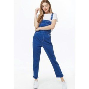 NWT Forever21 blue overalls